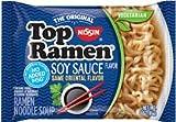 #2: Nissin Top Ramen – Soy Sauce Flavor (pack of 24) Formerly Oriental Flavor, Same Great Flavor