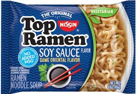 Nissin Top Ramen – Soy Sauce Flavor (pack of 24) Formerly Oriental Flavor, Same Great Flavor