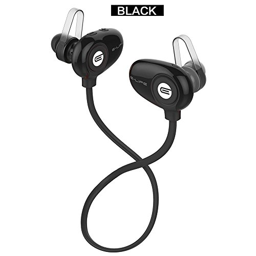 Wireless Bluetooth V4.0 Headset Waterproof In-Ear Noise Canc