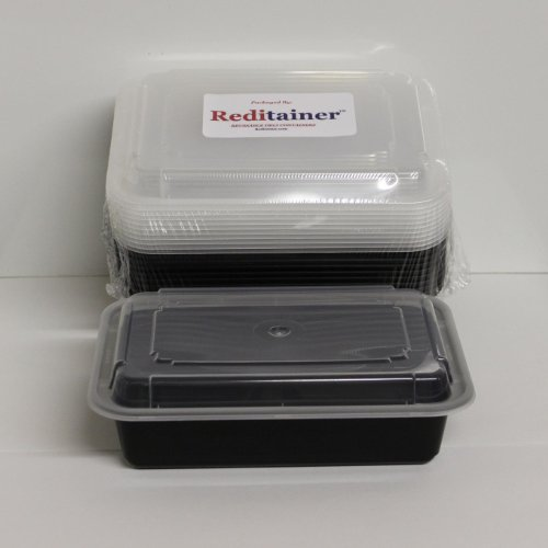 Reditainer Rectangular Food Storage Containers With Lids