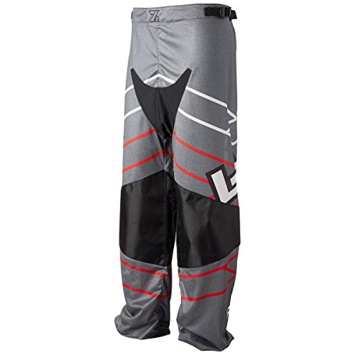 Pants Line In Hockey (Labeda Roller Hockey Inline Pants PAMA 7.2 Black/Red Size M)
