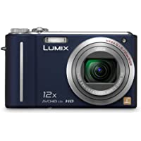 Panasonic Lumix DMC-ZS3 10MP Digital Camera with 12x Wide Angle MEGA Optical Image Stabilized Zoom and 3 inch LCD (Blue) Review Review Image