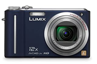 Panasonic Lumix DMC-ZS3 10MP Digital Camera with 12x Wide Angle MEGA Optical Image Stabilized Zoom and 3 inch LCD (Blue) (B001QFZMCY) | Amazon price tracker / tracking, Amazon price history charts, Amazon price watches, Amazon price drop alerts