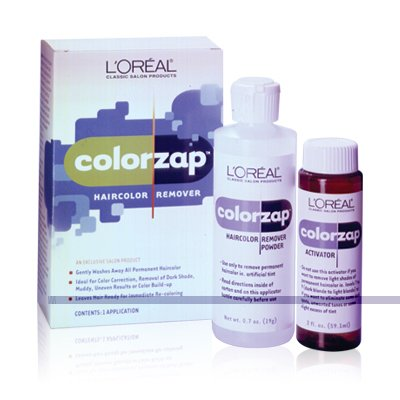 - L'Oreal - ColorZap Haircolor Remover, Removes all Unwanted Permanent Color
