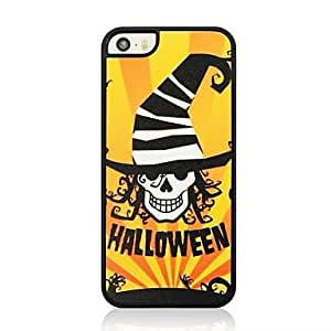 ZL Skull Wizard Pattern Plastic Hard Case for iPhone 5/5S