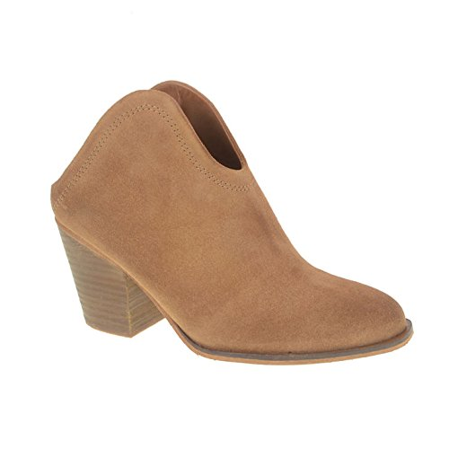 Chinese Laundry Women's Kelso Split Suede Boot, Caramel, 9 M (Boot Caramel)