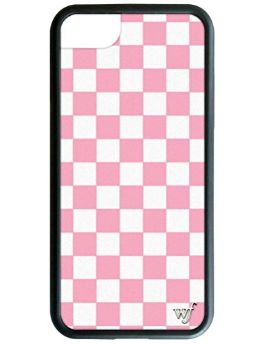 - Wildflower Limited Edition iPhone Case for iPhone 6, 7, or 8 (Pink Checkered)