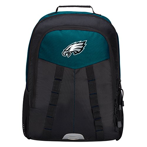 Officially Licensed NFL Philadelphia Eagles Scorcher Sports Backpack, Green