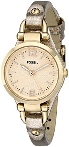 Fossil-Georgia-Three-Hand-Leather-Watch-Metallic-Gold-Es3426
