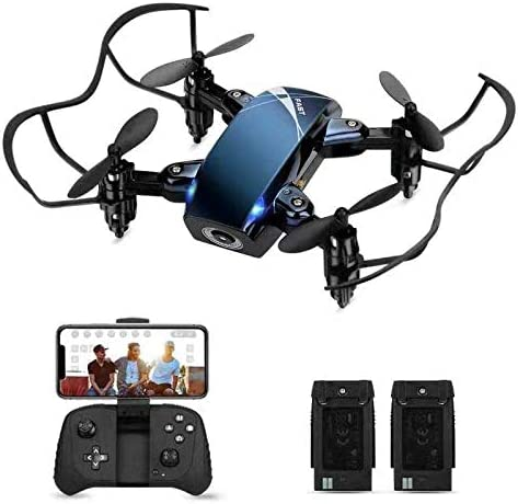 Foldable RC Mini Drone with Camera for Kids