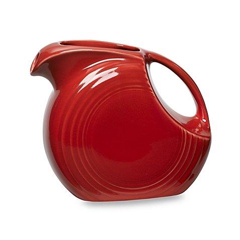 Fiesta 67.25 oz. Large Pitcher in (Scarlet) (Fiesta Dinnerware Pitcher compare prices)