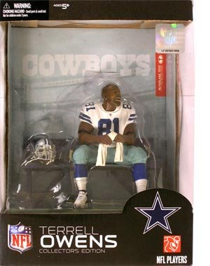 McFarlane Toys NFL Sports Picks Collector's Edition Boxed Set Action Figure Terrell Owens (Dallas Cowboys)