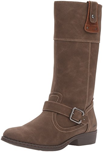 Price comparison product image BOC Kids Girls' 880338 Pull-On Boot, Earth Grey/Chocolate, 11 M US Little Kid