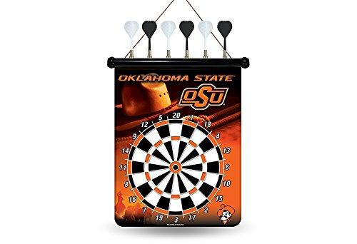 Oklahoma State Dartboard (NCAA Oklahoma State Cowboys Magnetic Dart Board)