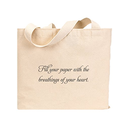 Cotton Canvas Jumbo Tote Fill Paper With Breathing Of Your Heart Style In Print Jumbo Paper Tote