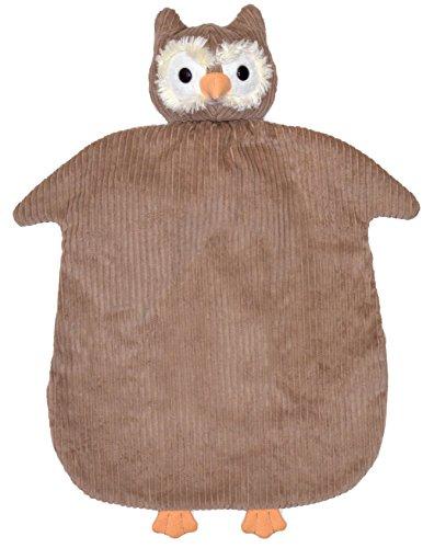(Apple Park Picnic Pal Organic Blankie, Owl, 15