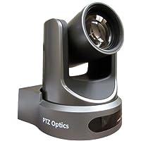PTZOptics 12X-SDI GEN-2 PTZ IP Streaming Camera with Simultaneous HDMI and 3G-SDI Outputs - Gray