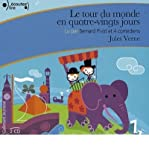 Le tour du monde en 80 jours. Audio-CD (CD-Audio)(French) - Common