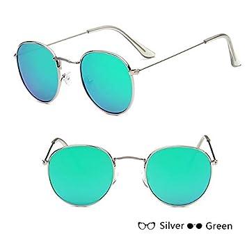 SUNNYBQM Gafas De Sol Espejo Gafas De Sol Mujer/Hombre Gafas ...