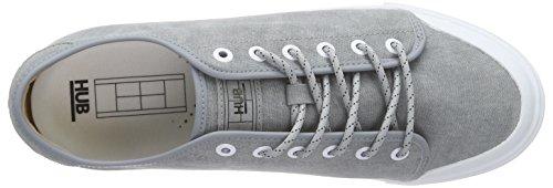 HubTimmer C06 - Zapatillas Hombre Gris (greyish blue/wht 045)