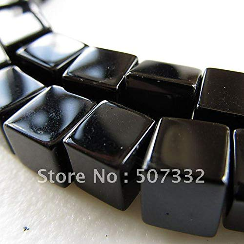 Calvas ! Wholesale AAA Top Quality 6mm Crystal 5601 Square Cube Beads -Black/Jet Colour 360pcs