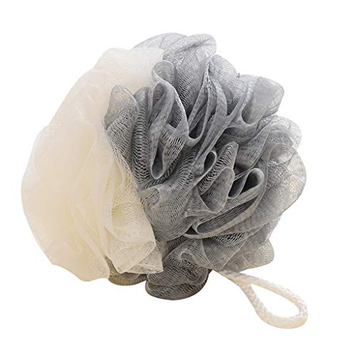 Clearance Sale!UMFunLoofah Bath Shower Sponge Pouf Mesh Ball Exfoliating Premium Scrubber (Gray)]()