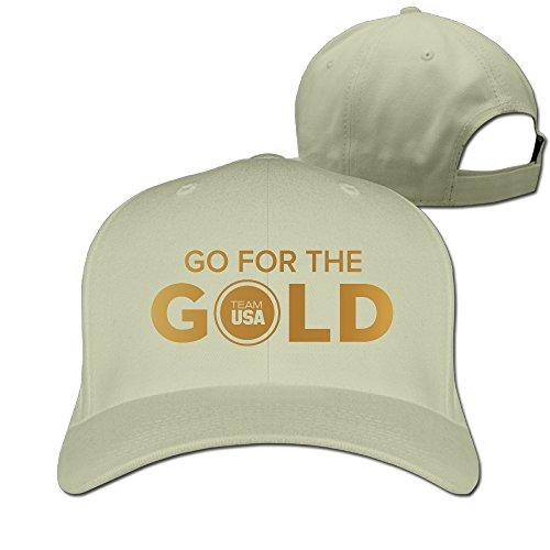 [Unisex Team USA Go For The Gold 46 2016 Rio Olympics Peaked Hat Baseball Cap] (Brazil Costume Male)