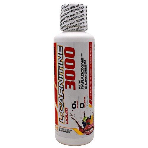 Adaptogen Science L-Carnitine Liquid Fruit Punch Supplement, 16 Fluid Ounce
