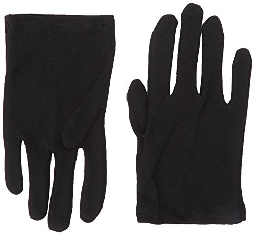 Rubie's Child's Black Cotton Gloves for