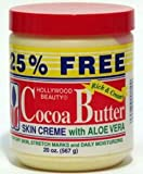 Hollywood Beauty Cocoa Butter Creme w/Aloe Vera