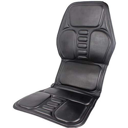 (MCJL Massage Cushion, car Home Dual-use Massage Cushion, PU Leather Ultra-Thin, Heating Vibration Massager)