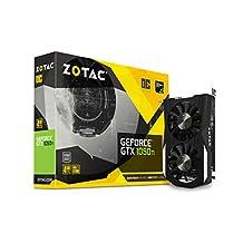 ZOTAC GeForce GTX 1050 Ti OC Edition 4GB GDDR5 128-bit DL-DVI Graphic Card (ZT-P10510B-10L)