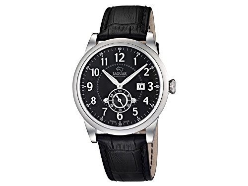 Jaguar Watches Men's Quartz Watch J662/4 with Leather Strap