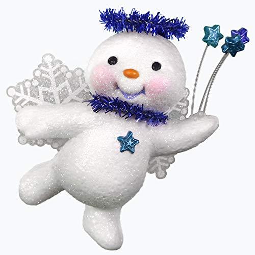 Angel Snowman Ornament (Hallmark Keepsake Keepsake Ornament, Sweet Star Angel)