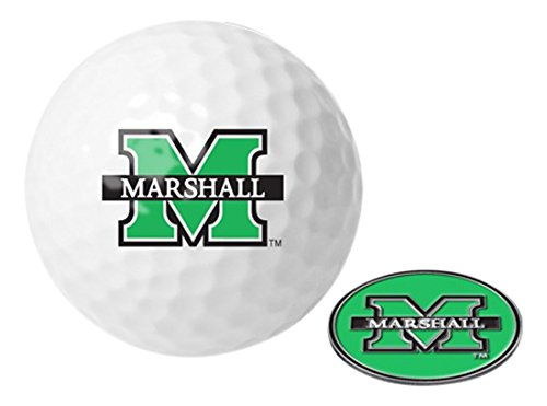 (NCAA Marshall University Thundering Herd - Golf Ball One Pack with)