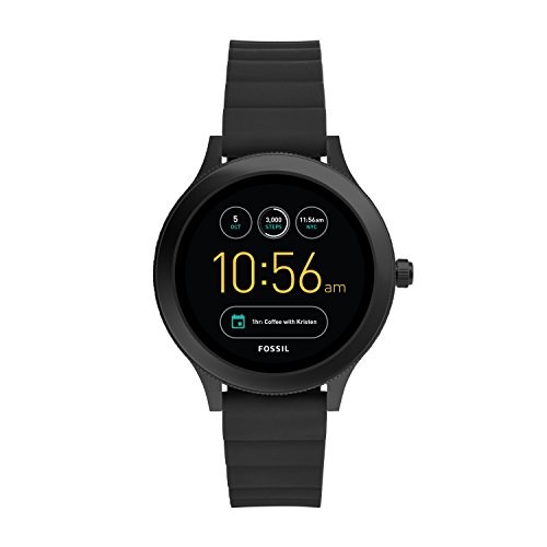 Fossil Gen 3 Smartwatch - Q Venture Black Silicone FTW6009 by Fossil
