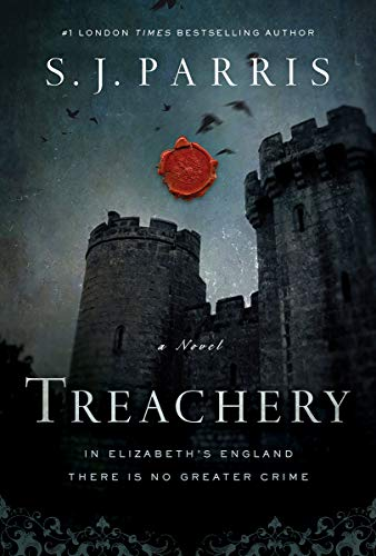 Treachery: A Novel (Giordano Bruno Thriller) by [Parris, S. J.]