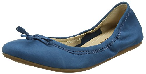 Hush Puppies Lexa Heather Bow, Ballerines Femme, Peau Blue (Dark Teal)