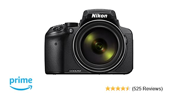 3dcc4d2f042 Amazon.com   Nikon COOLPIX P900 Digital Camera with 83x Optical Zoom and  Built-In Wi-Fi(Black)   Camera   Photo