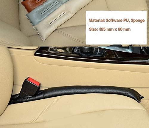 pour Traveller Si/ège de Voiture Gap Filler Pad,Rembourrage Coque de Protection Leakproof Pad Cuir de Les Holster Spacer Coussin Tampon Accessoires Auto 2 pi/èces Blanc
