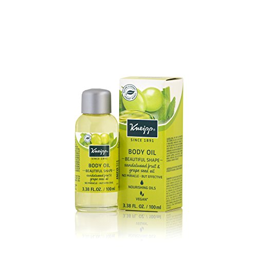 - Kneipp Body Oil, Sandalwood Fruit & Grapeseed Oil, Beautiful Shape 3.38 fl. Ounces