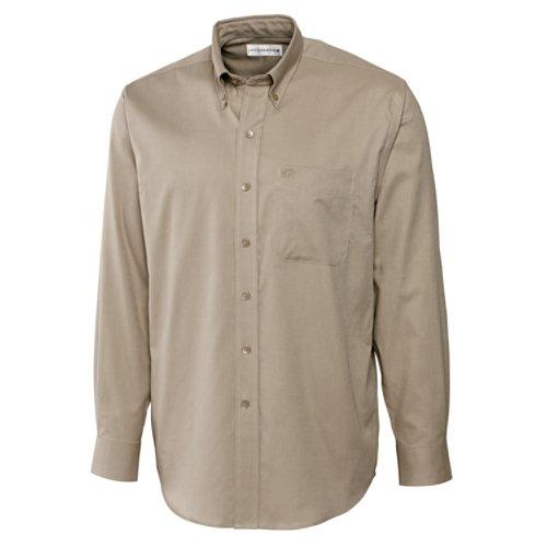 Cutter & Buck L/S Nailshead Woven Shirt (Nailshead Woven Shirt)