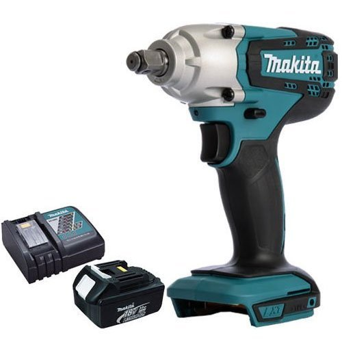 Makita DTW190Z 18V Li-ion 1/2' Square Impact Wrench With 3.0Ah BL1830 Battery & DC18RC Charger