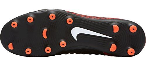 Nike Menns Magista Ola Ii Fg Fotball Klamp Svart / Hvit / Universitet Rød