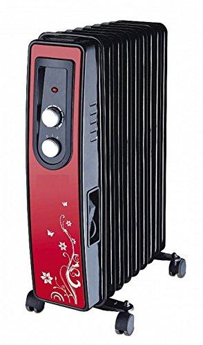 Ölradiator Elektroheizung Elektro Heizer Mobile Heizung Heizkörper Heizgerät Radiator 2000 Watt
