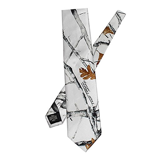 iLovewedding Mens New Camo Neckties Skinny Slim Camouflage Neck Ties for Hunting Gift Ideas (White) Camouflage Mens Vest