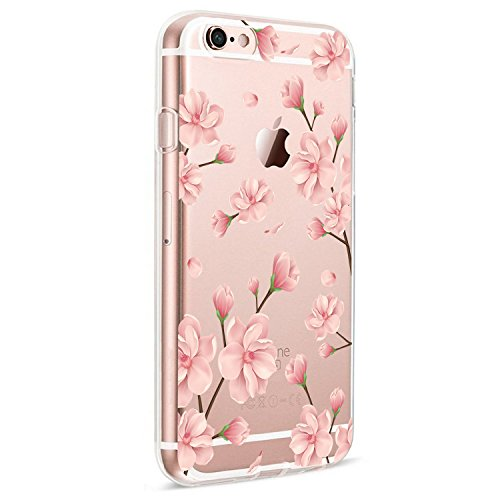 iPhone 6S Case Clear, Ultra Slim Shockproof Soft TPU Back Cover for iPhone 6 (iPhone 6 6s, 5)
