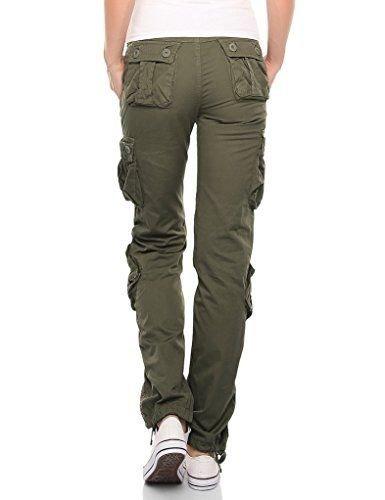 hibasing Pantalones Militares Unisex Pantalones t/ácticos Pantalones de Camuflaje para Mujer Pantalones Cargo Pantalones de Camping para Exteriores multifunci/ón