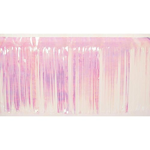 Iridescent Fringe, 15 inches high x 10 feet Long Decorating Supplies