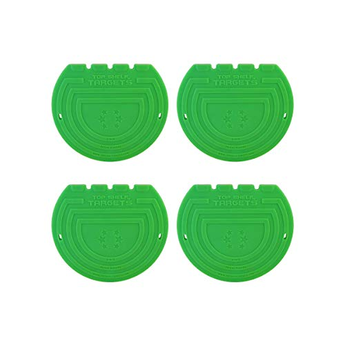 Super Sniper 6-inch Magnetic Shooting Targets (4 Pack Set) for Hockey and Lacrosse by Top Shelf Targets | Excellent Practice Tool & Training Equipment (Puck Hockey Frame)